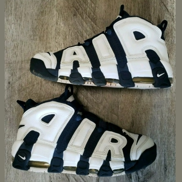 Nike Other - Nike Air More Uptemo Olympic 2016 Release High Top